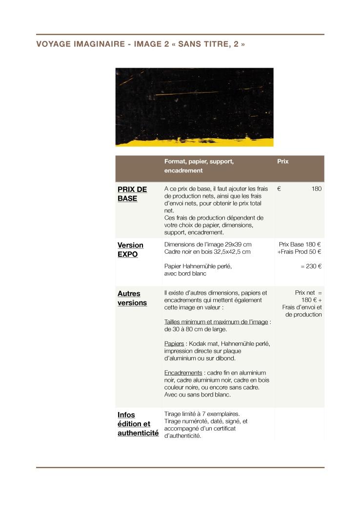 """Prix - Voyage imaginaire - Image 02 """"sans titre, 2"""" (sous le sol"""