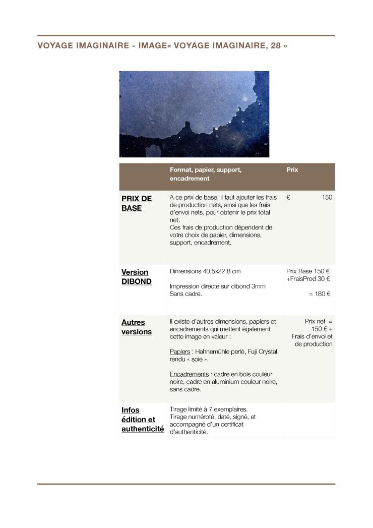 """Prix - Voyage imaginaire - Image 28 """"Voyage imaginaire 28"""""""